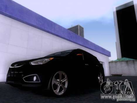 Hyundai ix35 for GTA San Andreas left view
