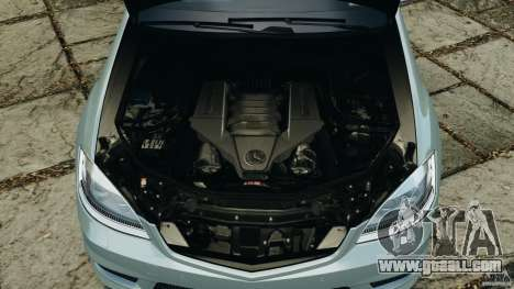 Mercedes-Benz S65 AMG 2012 v1.0 for GTA 4 bottom view