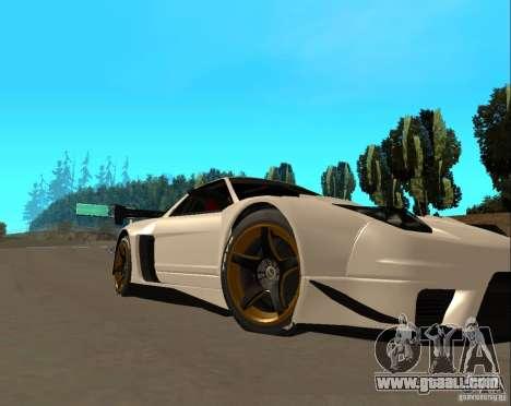 Acura NSX Sumiyaka for GTA San Andreas left view