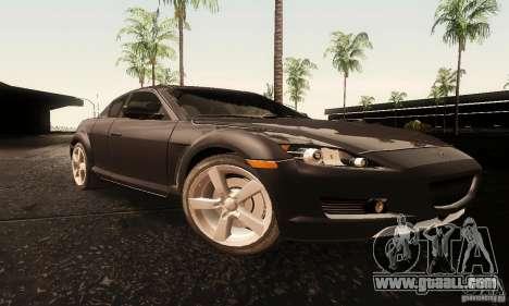 Mazda RX-8 Tuneable for GTA San Andreas
