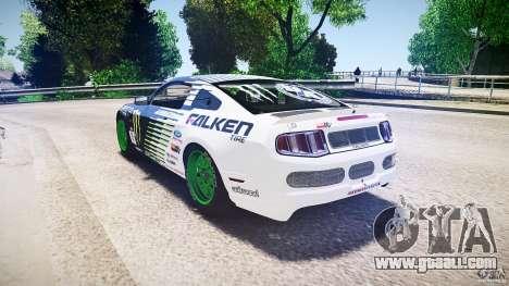 Ford Mustang GT Falken Tire v2.0 for GTA 4 back left view