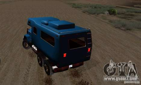 Journey 6x6 Enterable V1 for GTA San Andreas back view