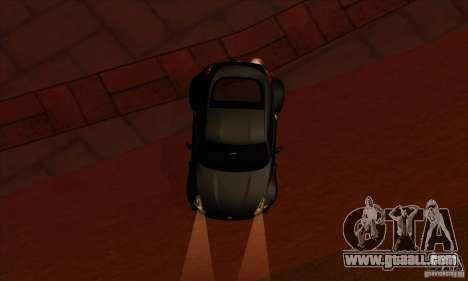 Nissan 370z Drift Edition for GTA San Andreas inner view