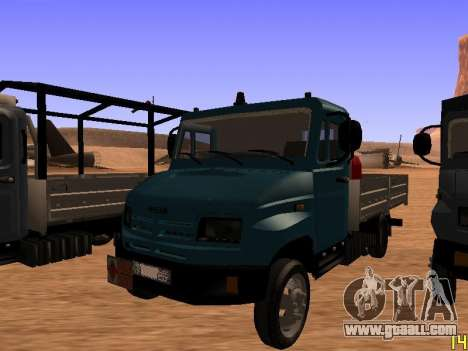 ZIL 5301 Goby for GTA San Andreas back view
