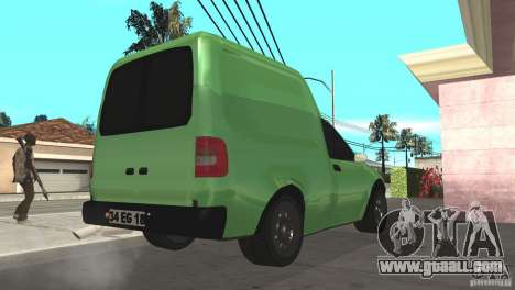 Opel Combo 1.4 for GTA San Andreas back left view