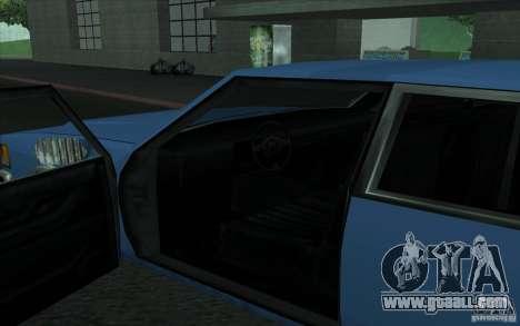 Civilian Police Car LV for GTA San Andreas right view
