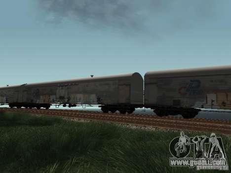 Refrežiratornyj wagon Dessau No. 8 Painted for GTA San Andreas right view