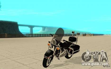 GTAIV TBOGT PoliceBike for GTA San Andreas