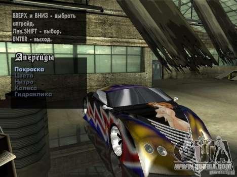 Thunderbold SlapJack for GTA San Andreas