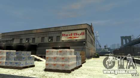 Red Bull Factory for GTA 4 second screenshot