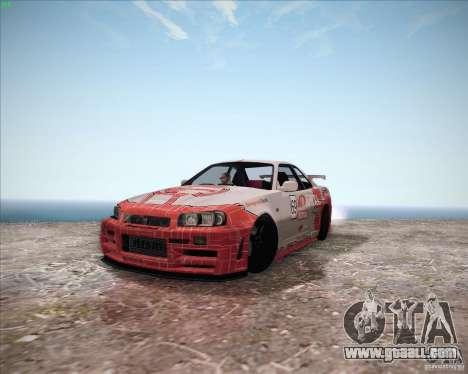 Nissan Skyline Z-Tune v2.0 for GTA San Andreas