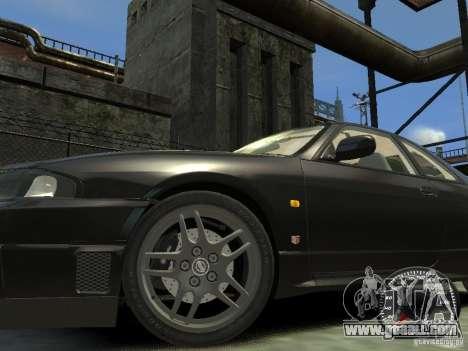 Nissan Skyline GT-R V-Spec (R33) 1997 for GTA 4 left view