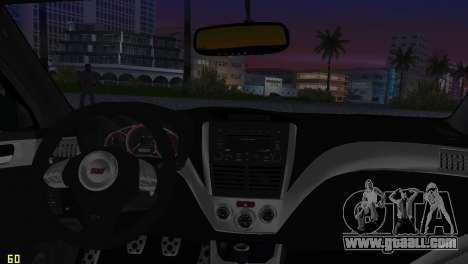 Subaru Impreza WRX STI (GRB) - LHD for GTA Vice City side view