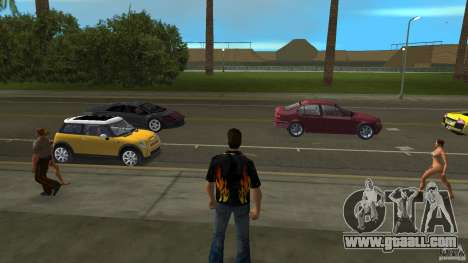 Mr Fire with blue jeans for GTA Vice City second screenshot