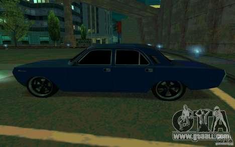 GAZ Volga 24 v2 (beta) for GTA San Andreas left view