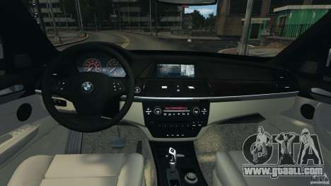 BMW X5 xDrive48i Security Plus for GTA 4 back view