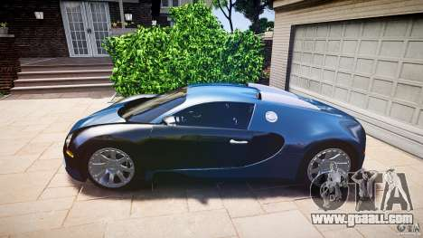 Bugatti Veyron 16.4 v3.0 2005 [EPM] Strasbourg for GTA 4 back left view