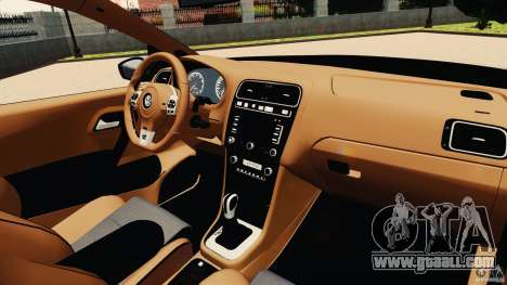Volkswagen Polo v2.0 for GTA 4 back view