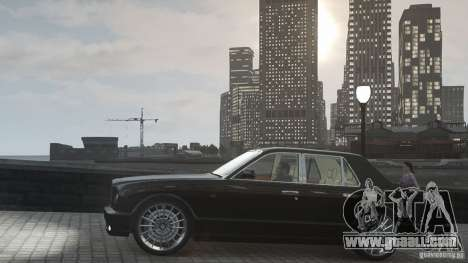 Bentley Arnage T v 2.0 for GTA 4 side view