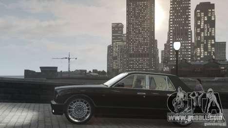 Bentley Arnage T v 2.0 for GTA 4 side view