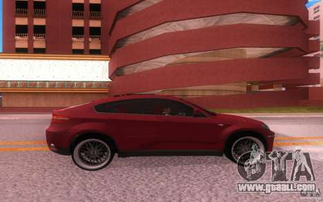 BMW X6 Tuning for GTA San Andreas right view