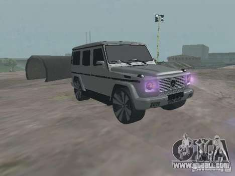 Mercedes-Benz G500 Kromma 1480 for GTA San Andreas
