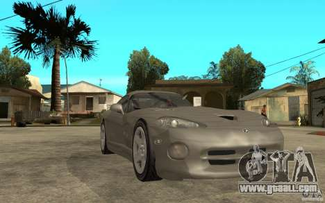 Dodge Viper GTS for GTA San Andreas back view