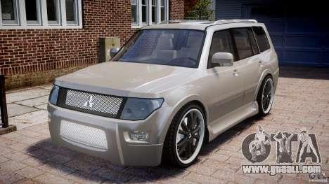 Mitsubishi Pajero Wagon for GTA 4
