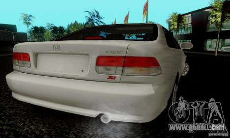 Honda Civic 1999 Si Coupe for GTA San Andreas left view