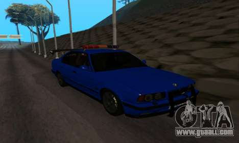 BMW M5 POLICE for GTA San Andreas