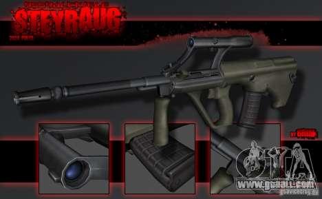SteyrAug for GTA San Andreas second screenshot