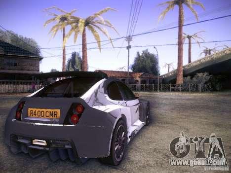Colin McRae R4 for GTA San Andreas back left view