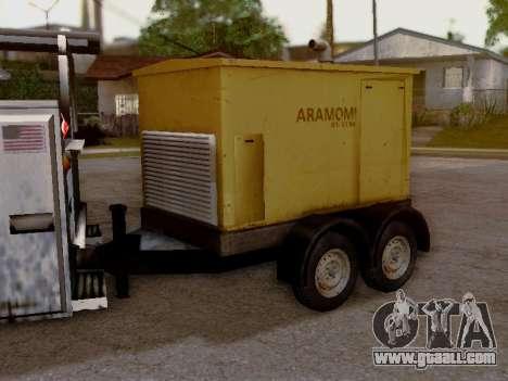 Trailer Generator for GTA San Andreas back view