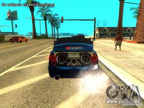 Hyundai Accent Era for GTA San Andreas side view