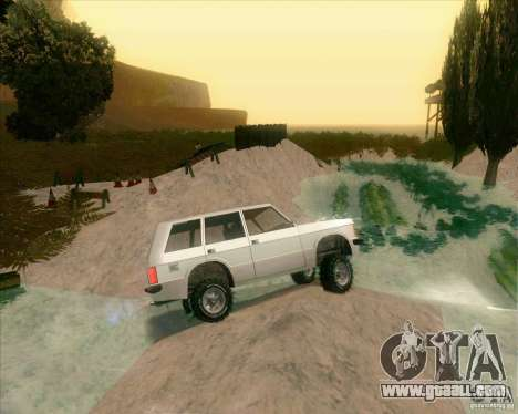 Off-Road Track for GTA San Andreas forth screenshot