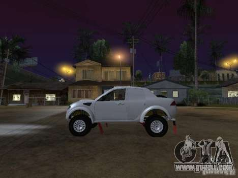 Mitsubishi L200 Triton for GTA San Andreas left view