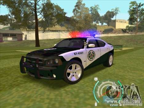 Dodge Charger Policia Civil from Fast Five for GTA San Andreas