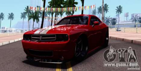 Dodge Challenger Rampage Customs for GTA San Andreas