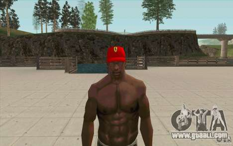 Ferrari Cap for GTA San Andreas second screenshot