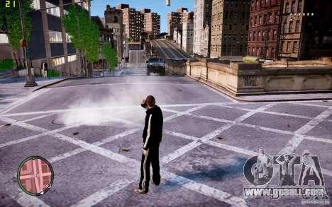 Adidas Suit for GTA 4 second screenshot