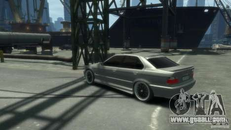 BMW 318i Light Tuning for GTA 4 left view