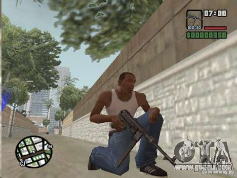Mafia II Full Weapons Pack for GTA San Andreas third screenshot