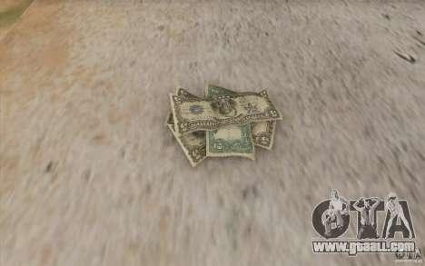 New money for GTA San Andreas third screenshot