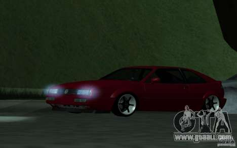 Volkswagen Corrado for GTA San Andreas back left view