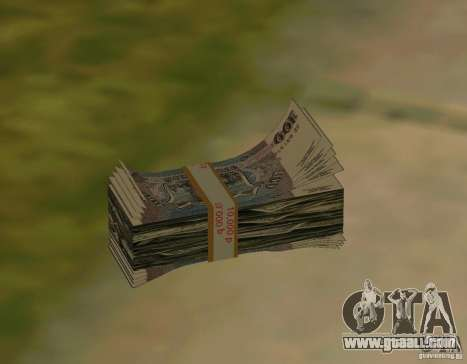 Rubles, along with dollars for GTA San Andreas second screenshot