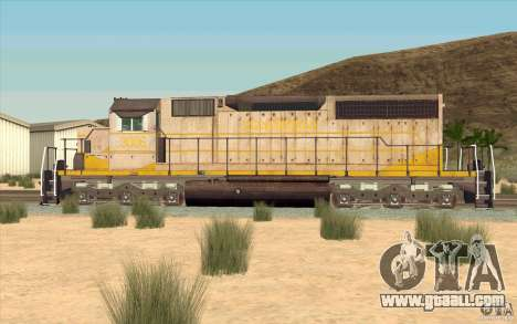Clinchfield SD40 (Yellow & Grey) for GTA San Andreas left view