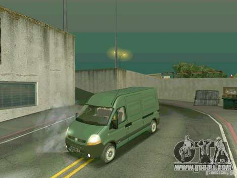 Renault Master for GTA San Andreas