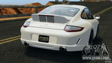 Porsche 911 Sport Classic 2010 for GTA 4 back left view
