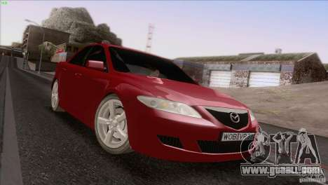 Mazda 6 2006 for GTA San Andreas side view