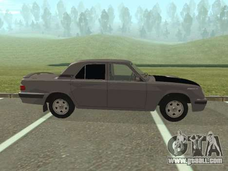 GAZ Volga 31105 restyling for GTA San Andreas left view